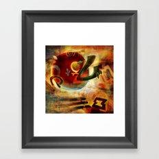 Elements VI - Radiate Framed Art Print
