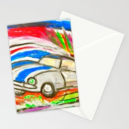 British Triumph Spitfire circa. 1965 (Abstract #1) Stationery Cards