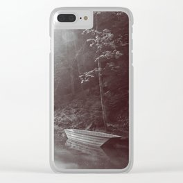 Rays of light Clear iPhone Case