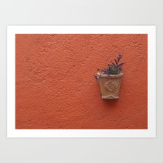 Wall Planter Art Print