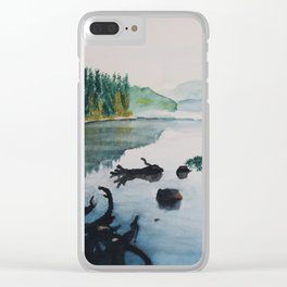 Oakridge Reservoir #2 Clear iPhone Case