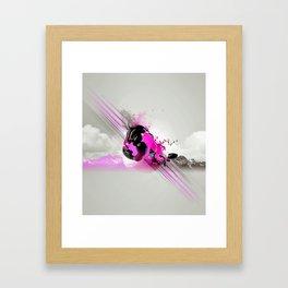 Sky Motion Framed Art Print