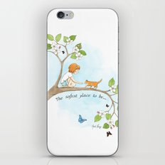 The safest place to be... iPhone & iPod Skin
