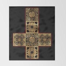 Lament Configuration Cross Throw Blanket