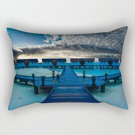 Reethi Beach Maldives  Rectangular Pillow
