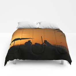 Turks & Caicos Sunset Comforters