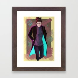 Out and about Framed Art Print