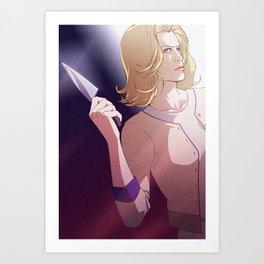 Knife (Skyler White - Breaking Bad) Art Print