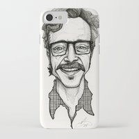 marc iPhone & iPod Cases featuring Marc Maron by Simone Bellenoit : Art & Illustration