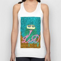 lsd Tank Tops featuring Lsd party 3 by DIVIDUS