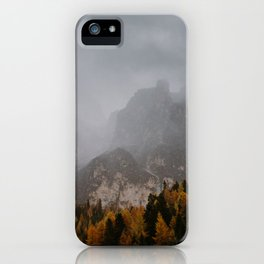 Rain in The Mountains iPhone Case