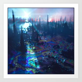____NEGATIVVE_LΛΛNDSCAPE_057 Art Print