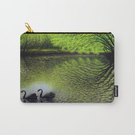 Lester's Swans Carry-All Pouch