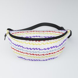 Radio Waves Fanny Pack