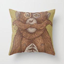 Great Uncle Reginald Throw Pillow