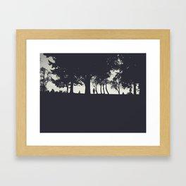 The Horizon Framed Art Print