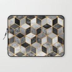 Black & White Cubes Laptop Sleeve