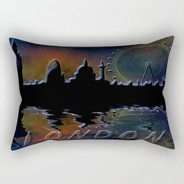 Panorama of London Rectangular Pillow