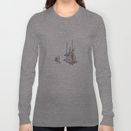 Swinging tree Long Sleeve T-shirt