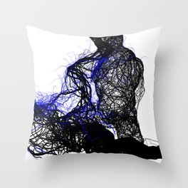 ivy passion Throw Pillow