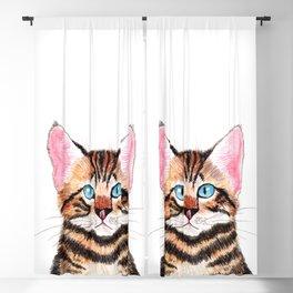 Bengal Cat Blackout Curtain
