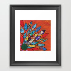 Petalos Framed Art Print