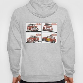 Monte Carlo Rally Mini Coopers Hoody