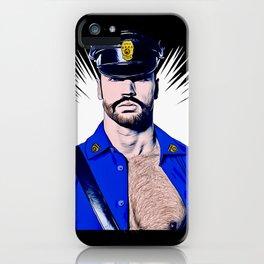 Bear Cop iPhone Case