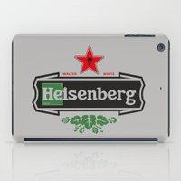 heisenberg iPad Cases featuring Heisenberg by le.duc