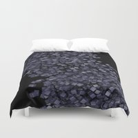 chaos Duvet Covers featuring Chaos by Display Dezign