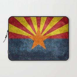 Flag of Arizona, Vintage Retro Style Laptop Sleeve