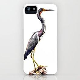 The Gentle Graceful Heron iPhone Case