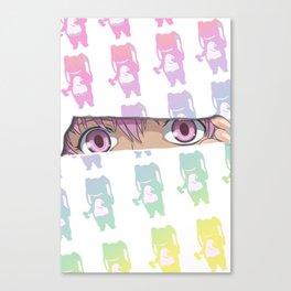 Say Hello Yuki Canvas Print