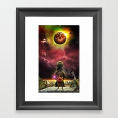 Dawn of the first day Framed Art Print