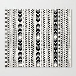 Tribal Arrow Boho Pattern #5 #aztec #decor #art #society6 Canvas Print