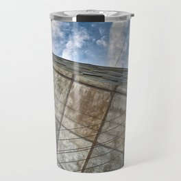 Sinking Building Sky of Dread Travel Mug