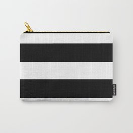 Mariniere marinière black and white Carry-All Pouch