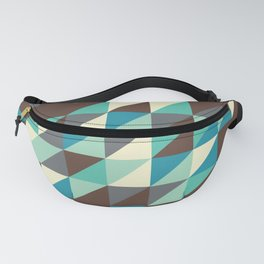 Triangles [never win] Fanny Pack