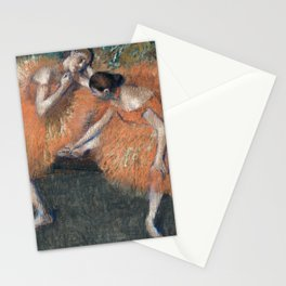 Edgar Degas - Two Dancers, 1898 Stationery Cards