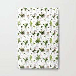 Garden Greens Metal Print