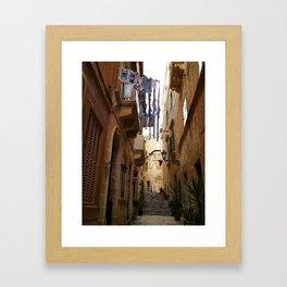 Birgu Framed Art Print