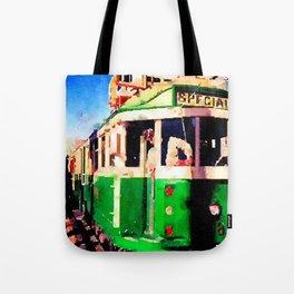 San Francisco F Line Trolly Tote Bag