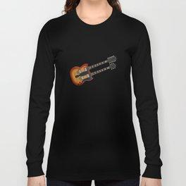 Double Neck Guitar Long Sleeve T-shirt