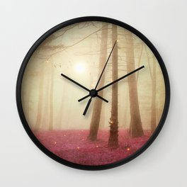 A new beginning VII Wall Clock