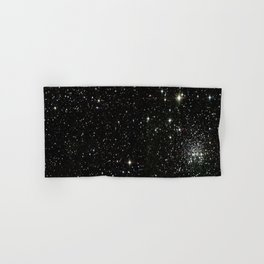 Space - Stars - Starry Night - Black - Universe - Deep Space Hand & Bath Towel