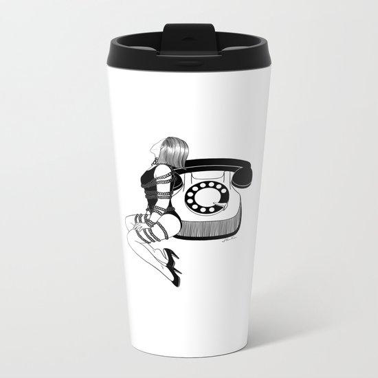 Waiting for your call Metal Travel Mug