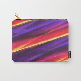Pattern colorgradient purple Carry-All Pouch
