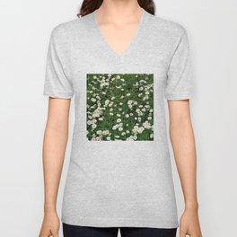 Daisy Garden Unisex V-Neck