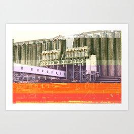 Halifax | Project L0̷SS   Art Print