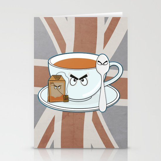 Tea fury Stationery Cards